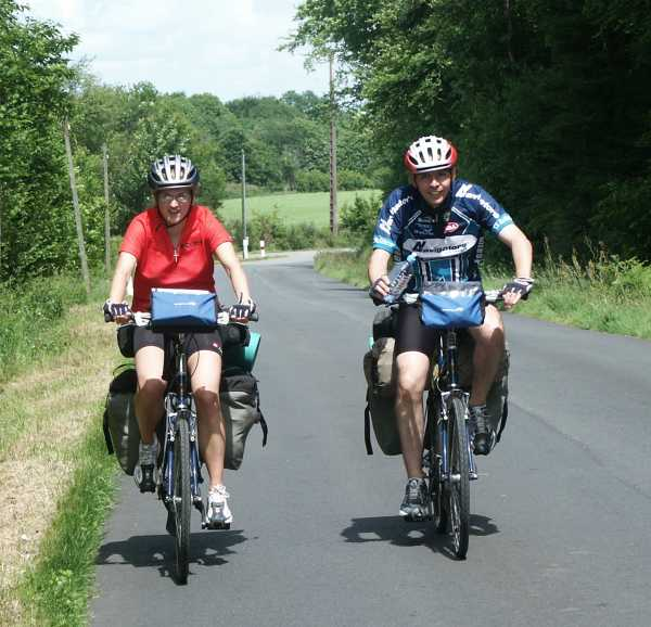 Cycling through Brittany